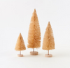 Set of 3- Natural Sisal Tree with Base