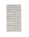 Black and White Grid- Dinner Napkin