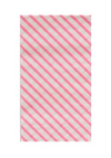 Neon Rose Stripe- Dinner Napkin