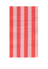 Blush & Cherry Stripe- Dinner Napkin