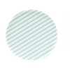Mint Stripes- Small Plate