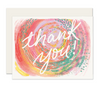 Painterly Thank You Card