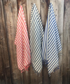 Cobalt Stripe Turkish Towel