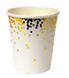 Gold Confetti Party Cup