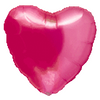 "18"" Precious Pink Transparent Heart"
