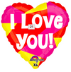 "21"" Heart ""I Love You!"" Mylar Balloon"