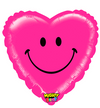 "21"" Mighty Smiley Heart Mylar Balloon"