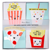 Fun Food Kids Valentines Card Set