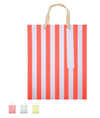 Neon Stripe Medium Gift Bags