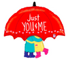 "33"" ""Just You & Me"" Mylar Balloon"