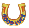 "38"" Good Luck Horseshoe Mylar Balloon"