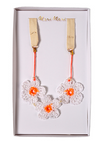 Crochet Daisy Necklace