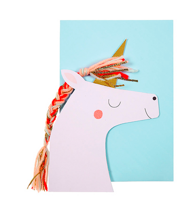 Unicorn Happy Birthday Card
