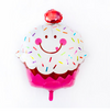 "31"" Frosted Cupcake Mylar Balloon"