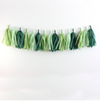 Tissue Paper Tassel DIY Garland Kit - Evergreen Wreath