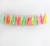 Tissue Paper Tassel DIY Garland Kit - Ice Cream Parlor