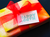 Happy Happy Letterpress Gift Tag