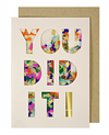 You Did It! Confetti Card