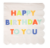 Happy Birthday To You Small Napkin