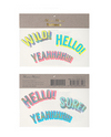 """Wild!, Hello!, Yeah!"" Holographic & Neon Tattoos"
