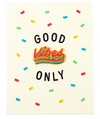 Good Vibes Only Card & Pin