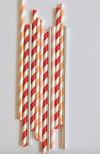 Peachy Vibes Paper Straws