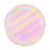We Heart Pastel Iridescent Paper Plates