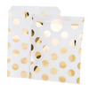 Gold Dots Treat Bags