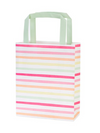 Stripe Multi-Color Gift Bag