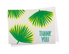 "Palm Leaf - Boxed ""Thank You"" Cards"