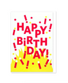 Flame Birthday Card