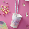 "Rainbow & Iridescent - ""Yay!"" Cups"