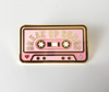 Break Up Songs Cassette Pin