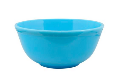 Set of Glass Nesting Bowls - Robins Egg Blue