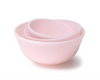 Set of Glass Nesting Bowls - Tuscan Crown Pink