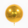 Mylar Orb Balloon - Gold