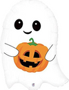 "26"" Cute Little Ghost Mylar Balloon"