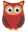 "26"" Woodland Owl Mylar Balloon"