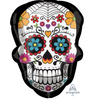"24"" Sugar Skull Mylar Balloon"
