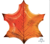 "25"" Maple Leaf Mylar Balloon"