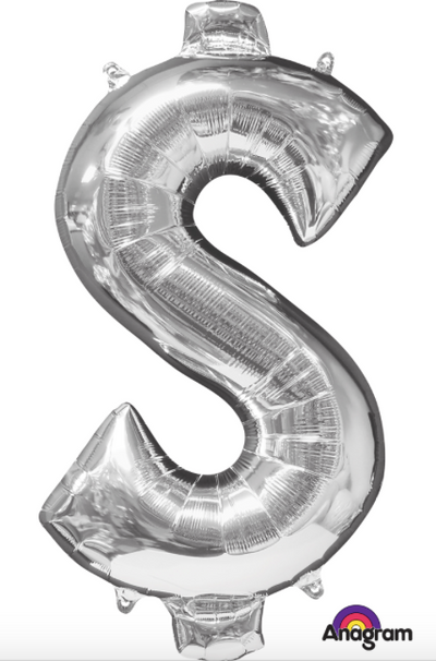 "34"" Dollar Sign Mylar"