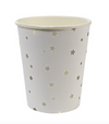 Silver Stars Party Cups
