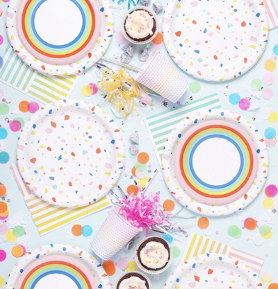 Rainbow Dot Party Cup