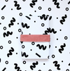 B&W Squiggle Gift Wrap Roll