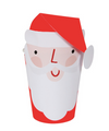 Red Santa Party Cups