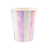 Iridescent Striped Cup