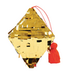 Gold Diamond Piñata Ornament