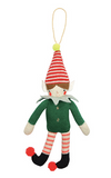 Knitted Elf Decoration