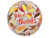 Give Thanks Clear Bubble