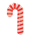 Candy Cane Mylar Balloon